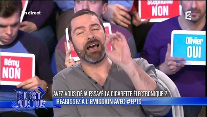 28 février 2014 l'Emission Pour Tous Sébastien Bouniol, Vice-Président de l'AIDUCE, invité de Laurent Ruquier
