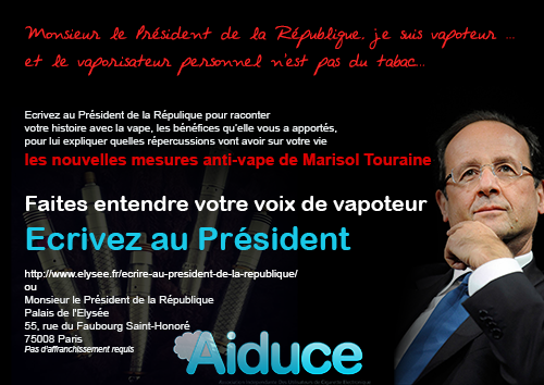 Lettre à Mr François Hollande, donnez votre avis sur le PNRT!! Ecrire-presiden
