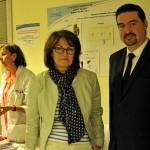 Brice Lepoutre, président de Aiduce et Anne Borgne, médecin tabacologue, présidente du Respadd